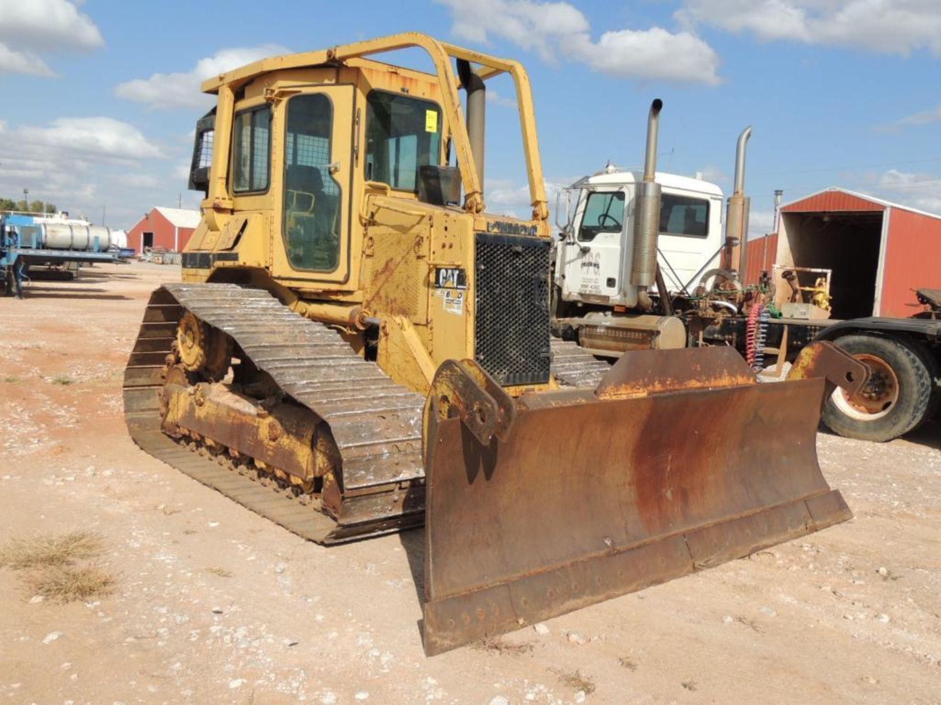 1996 Caterpillar D4H-LGP Series III Crawler Tractor, 6 Way Blade, 30 In. Grousers, 7570 Hrs. - Image 2 of 4