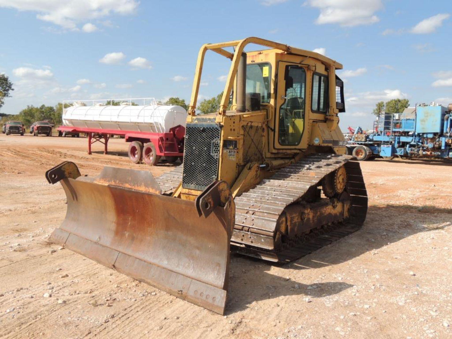 1996 Caterpillar D4H-LGP Series III Crawler Tractor, 6 Way Blade, 30 In. Grousers, 7570 Hrs.