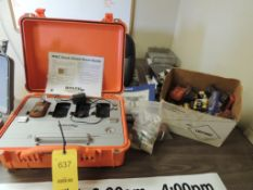 LOT: Gas Clip Technologies MGC Docking Station with Assorted Detector Parts (LOCATED IN HENNESSEY,