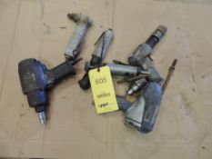 LOT: Kobalt .5 in. Impact and Air Chisel, CP Nibbler, Craftsman Die Grinder (LOCATED IN HENNESSEY,