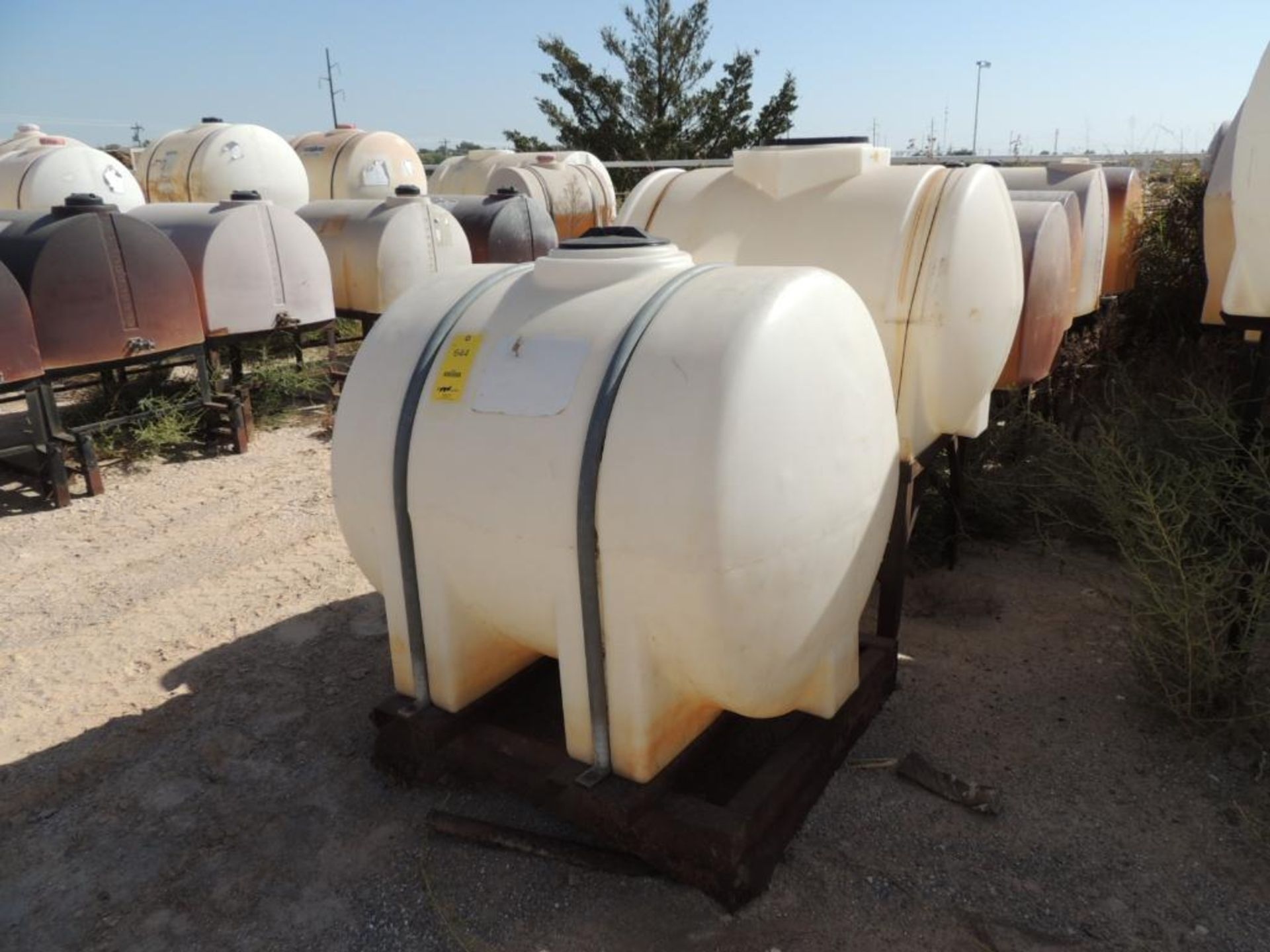 LOT: (7) Poly Tanks - (3) 230 Gallon, (1) 225 Gallon, (3) 130 Gallon (LOCATED IN HENNESSEY, OK. - IN - Image 2 of 2