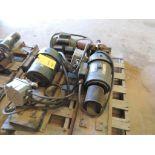 LOT: (2) Marathon Electric Motors, 182T Frame, 1 Ph, 115/230 Volt, (1) WEG Electric Motor 2 HP, 1720