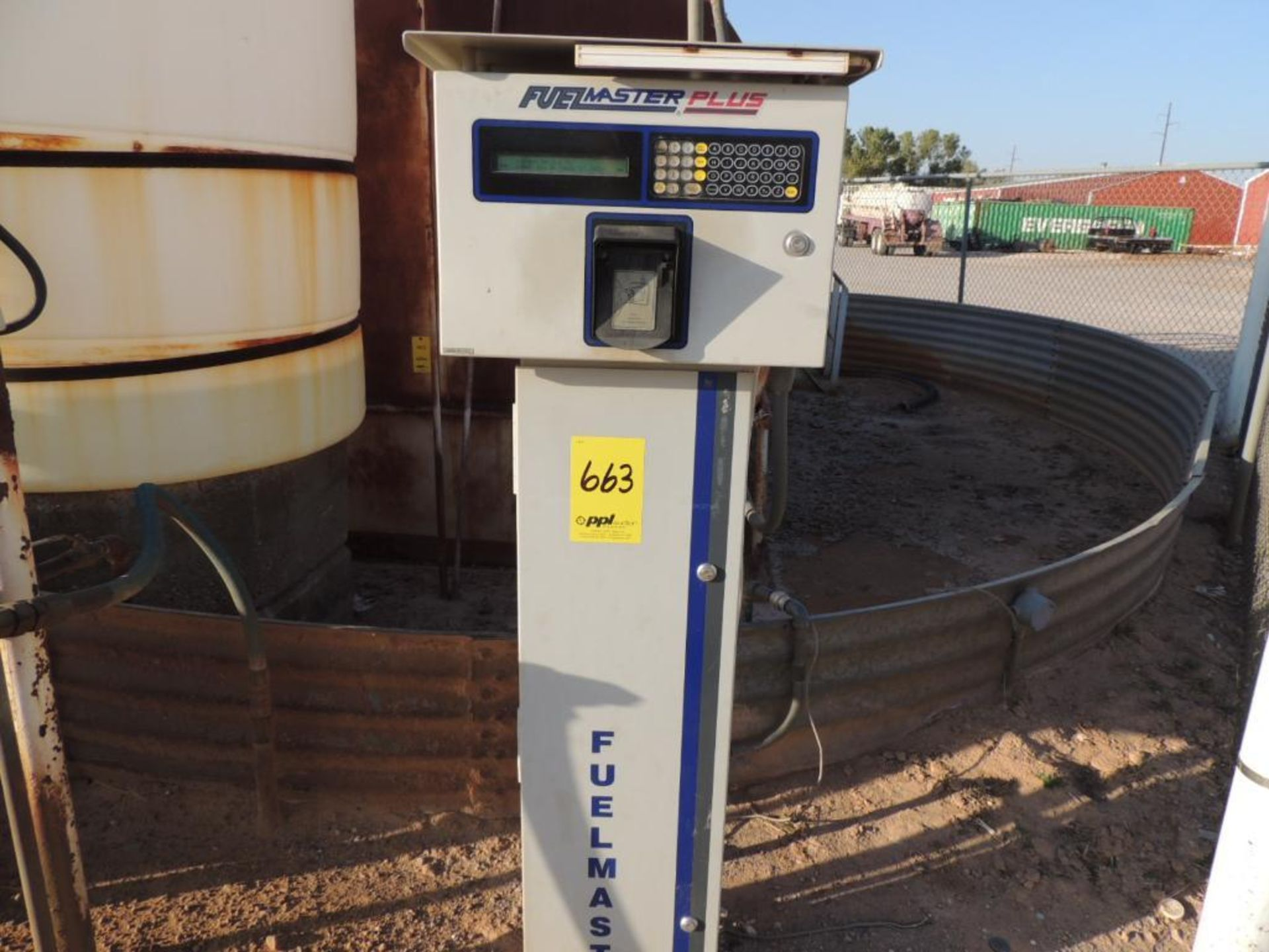 Fuel Island 8200 Gallon Steel Tank, Fuel Master Plus PrOK.ee Management System, Fill-Rite Series 900 - Image 2 of 4