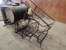 LOT: (4) Barrel Stands (LOCATED IN HENNESSEY, OK. - IN CHEM BLDG.)
