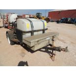 Hotsy Steam Cleaner on Bragg S/A Trailer (Not in Service) (LOCATED IN HENNESSEY, OK. - IN CHEM