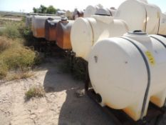 LOT: (7) Poly Tanks - (3) 230 Gallon, (1) 225 Gallon, (3) 130 Gallon (LOCATED IN HENNESSEY, OK. - IN