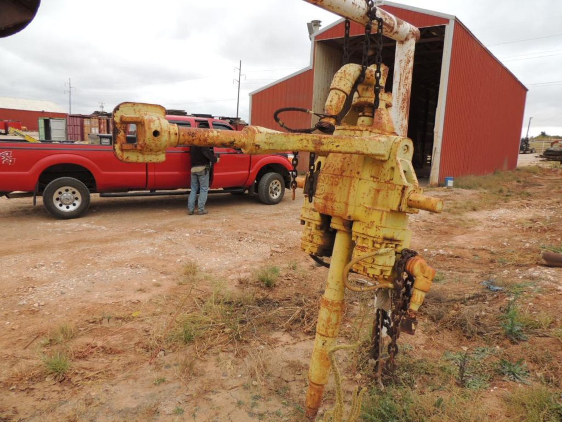 Baash-Ross 130 Ton Power Swivel (LOCATED IN HENNESSEY, OK.- NEXT TO WASH BAY) - Image 3 of 3