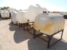 LOT: (7) Poly Tanks - (1) 535 Gallon, (3) 330 Gallon, (3) 80 Gallon (LOCATED IN HENNESSEY, OK. -