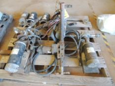 LOT: (3) 12 Volt Motors and Roller Pumps, (3) WMS 12 Volt 5 HP Motors (LOCATED IN HENNESSEY, OK. -