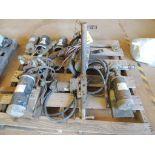 LOT: (3) 12 Volt Motors and Roller Pumps, (3) WMS 12 Volt 5 HP Motors (LOCATED IN HENNESSEY, OK. -