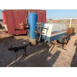 Grimmer Schmidt NGG 351 Air Compressor, Natural Gas, Model 351, 731 hrs. indicated, S/N 46071 (