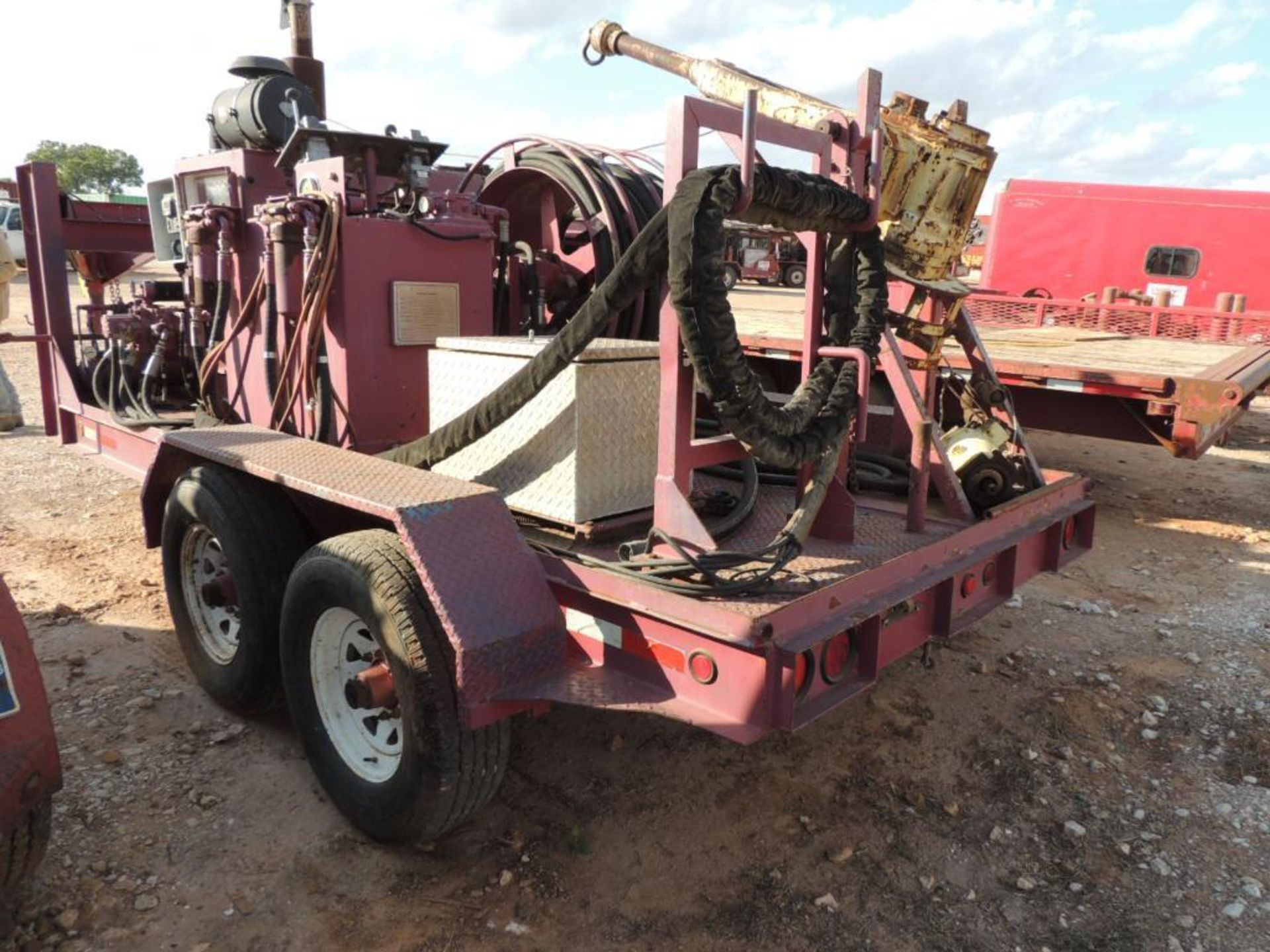 Power Swivel Trailer 2007 Ameri Trail Gooseneck Trailer 6 Ft. x 14 Ft. T/A, w/ King Oil Tools 3PS - Image 5 of 6