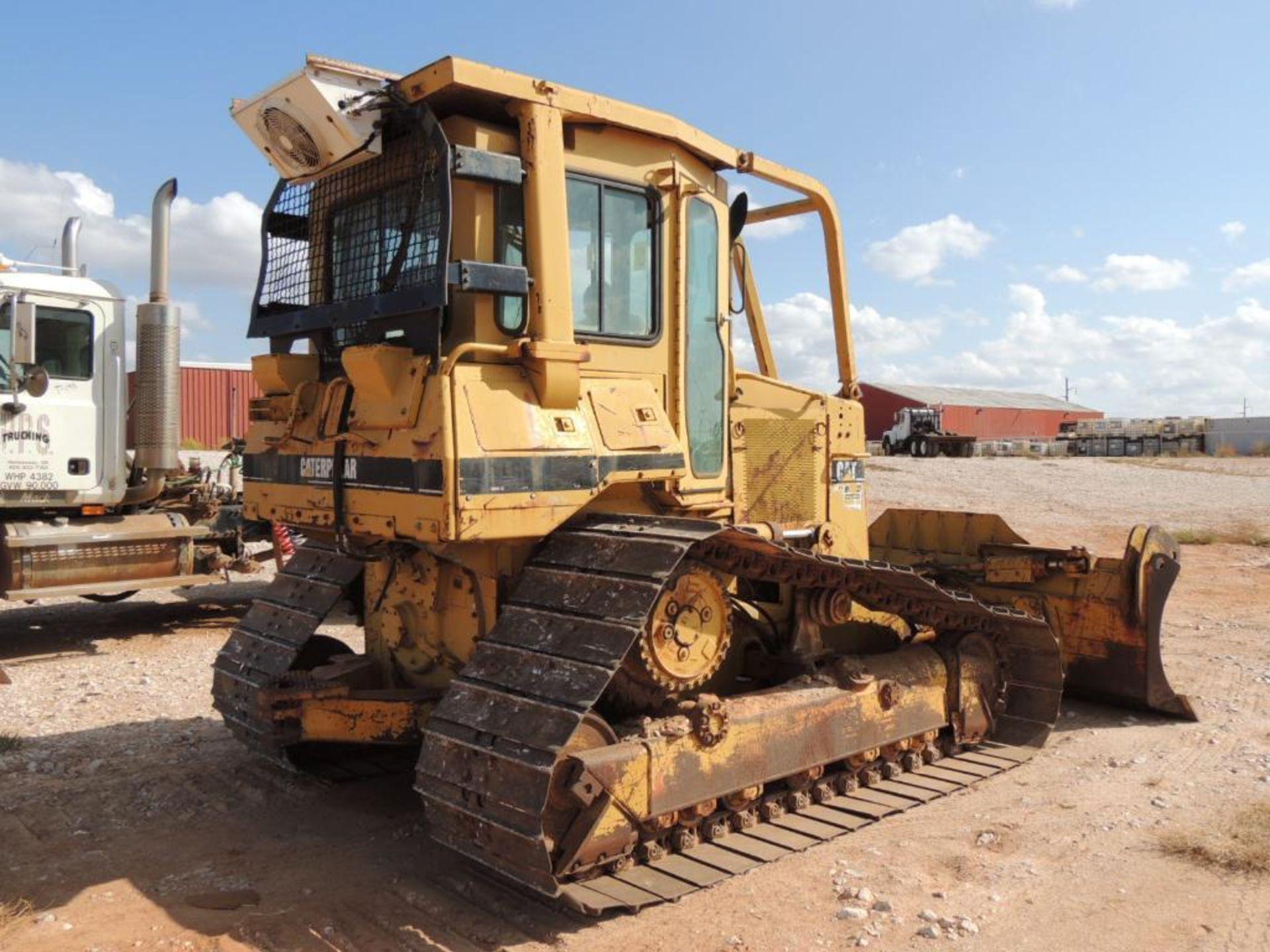 1996 Caterpillar D4H-LGP Series III Crawler Tractor, 6 Way Blade, 30 In. Grousers, 7570 Hrs. - Image 3 of 4