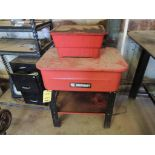 LOT: (2) Job Smart Parts Washers (LOCATED IN HENNESSEY, OK. - IN CHEM BLDG.)