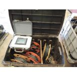 LOT: NOV-MD Totco Series 2000 Display with MD Pressure Transducer 4-20 MA, (4) Power Cables (LOCATED