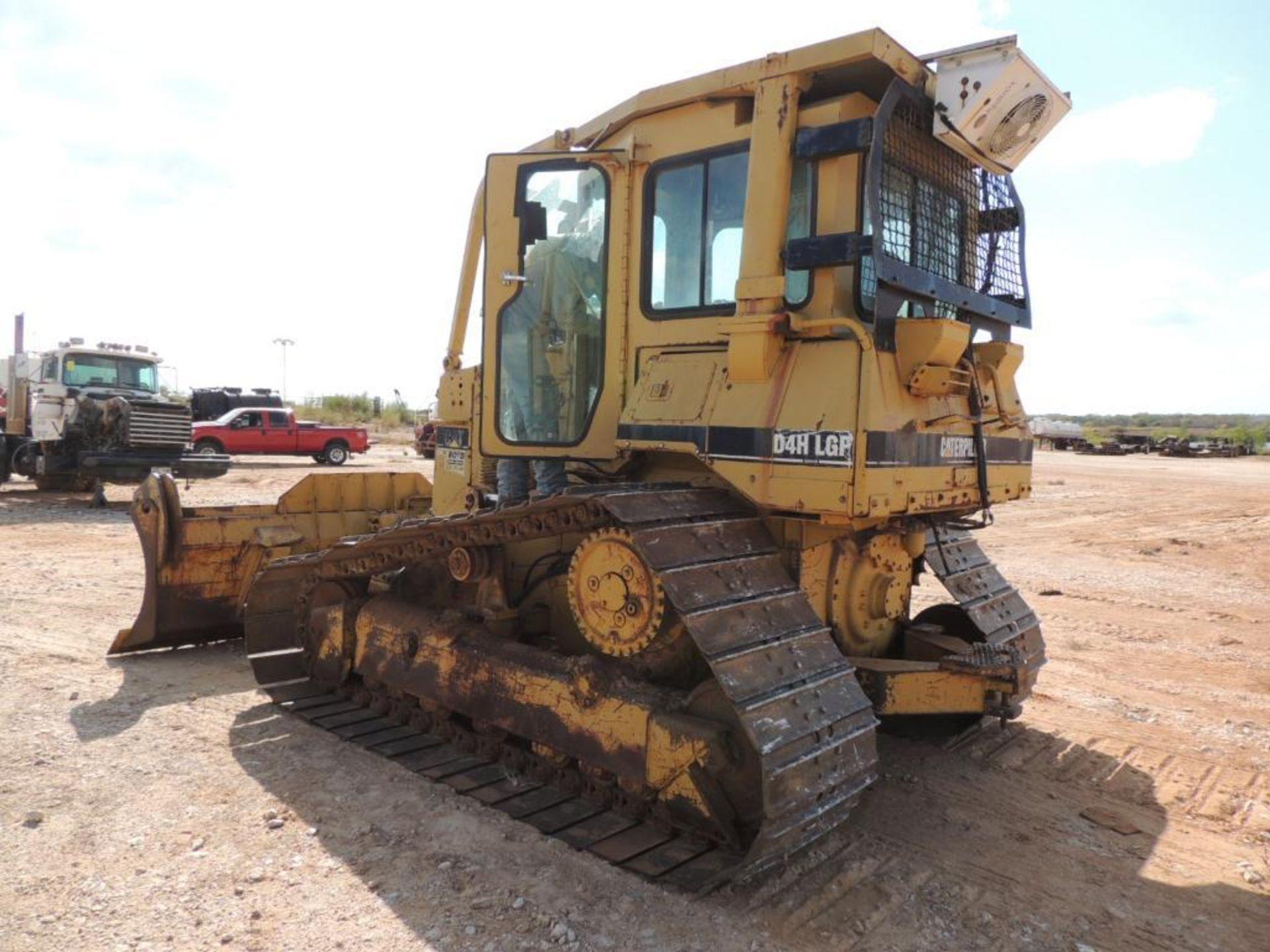 1996 Caterpillar D4H-LGP Series III Crawler Tractor, 6 Way Blade, 30 In. Grousers, 7570 Hrs. - Image 4 of 4