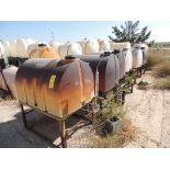 LOT: (8) Poly Tanks - (6) 130 Gallon, (2) 65 Gallon (LOCATED IN HENNESSEY, OK. - IN CHEM YARD)