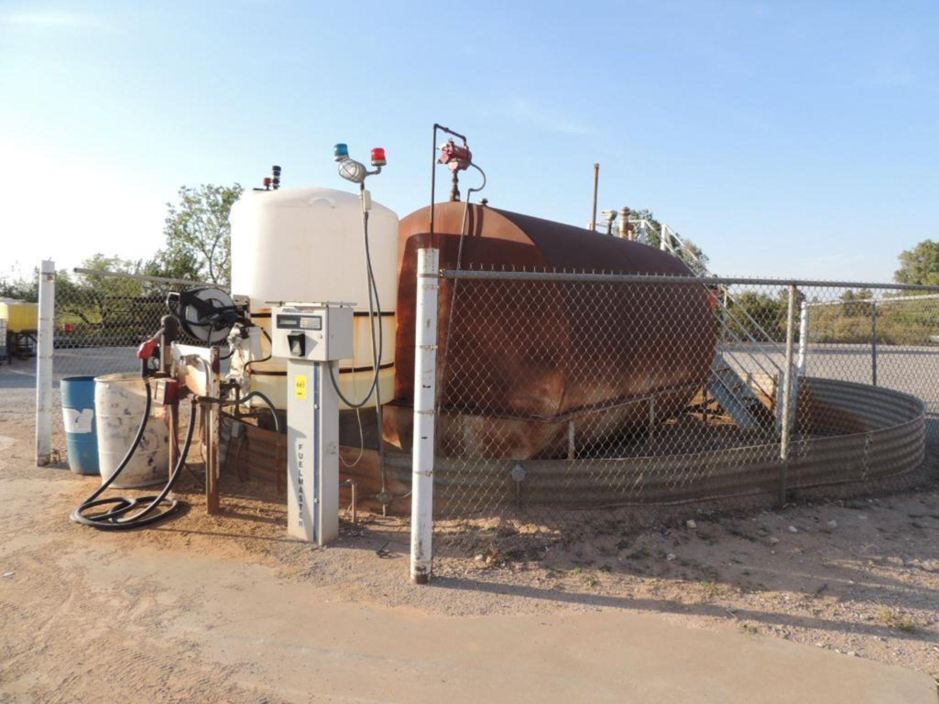 Fuel Island 8200 Gallon Steel Tank, Fuel Master Plus PrOK.ee Management System, Fill-Rite Series 900