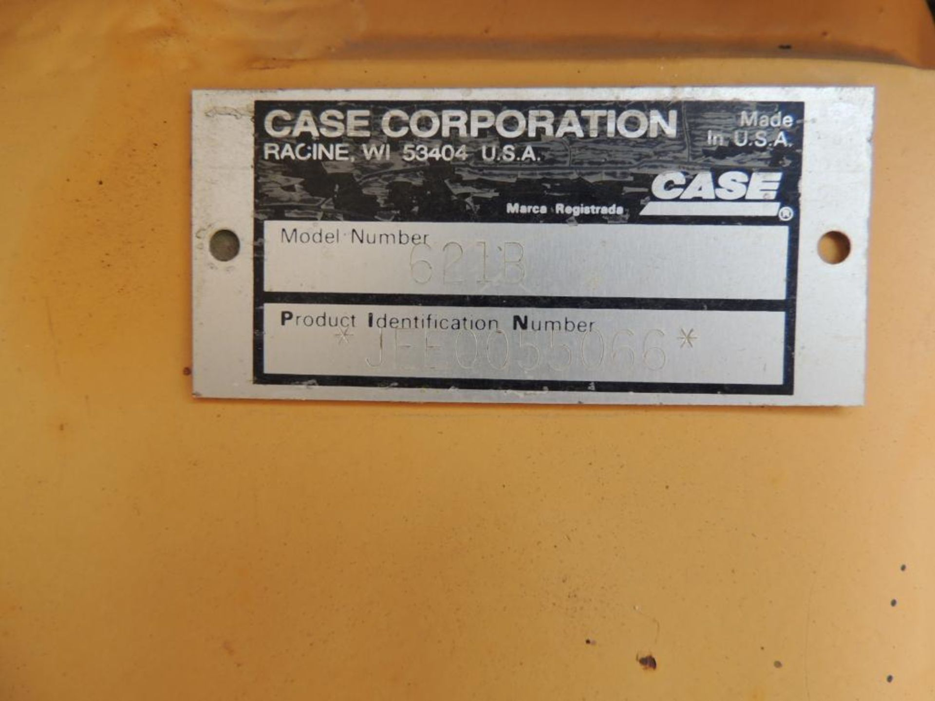 Case 621B Wheel Loader, 100 in. GP Bucket, Grapple, Brake Pressure Low, Transmission Will Not - Image 5 of 5