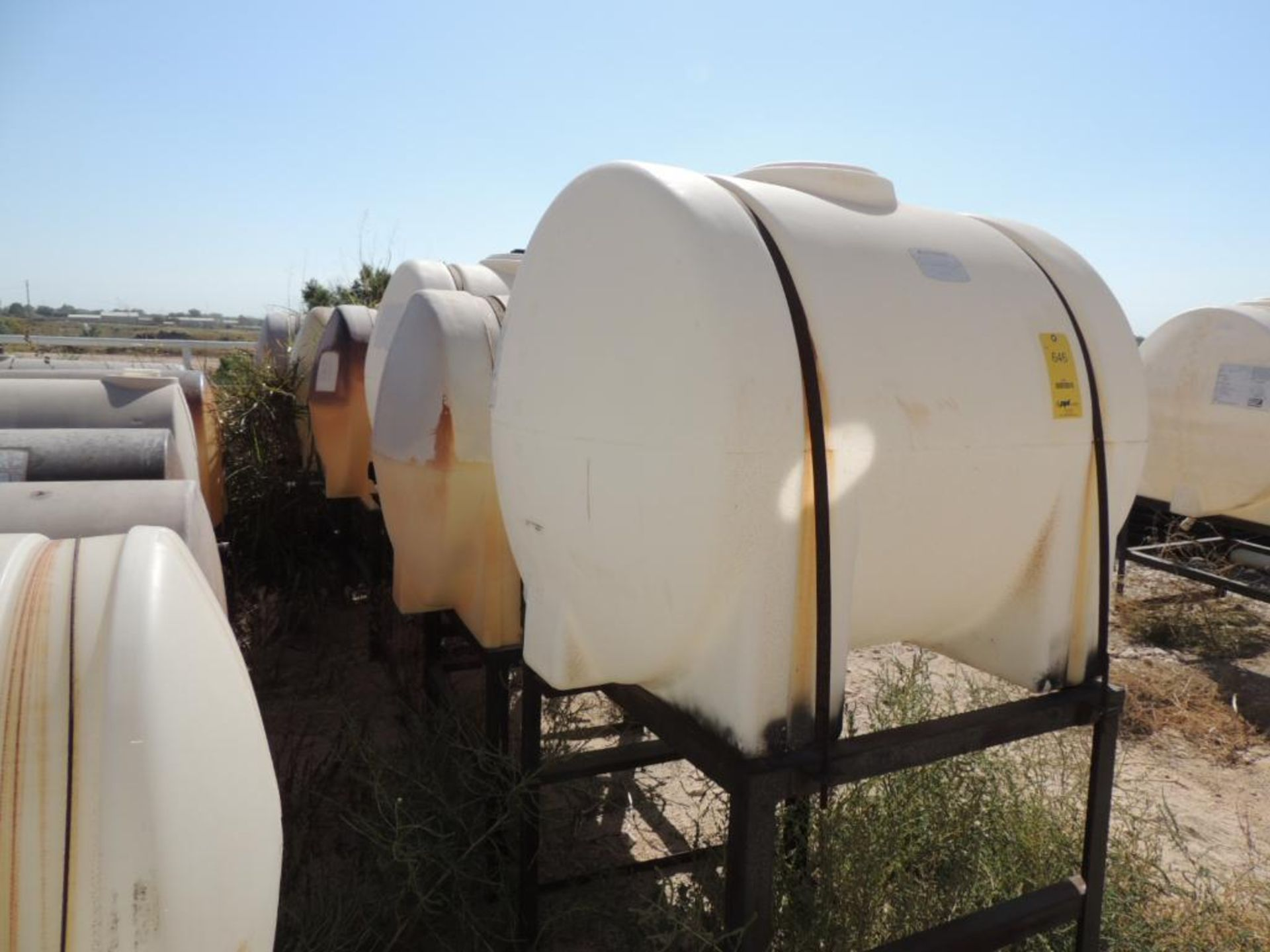 LOT: (6) Poly Tanks - (4) 230 Gallon, (2) 225 Gallon (LOCATED IN HENNESSEY, OK. - IN CHEM YARD) - Image 2 of 2