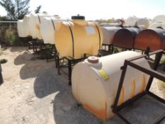 LOT: (6) Poly Tanks - (1) 500 Gallon, (3) 230 Gallon, (2) 140 Gallon (LOCATED IN HENNESSEY, OK. - IN