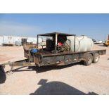 Hotsy Steam Cleaner Model 4000 w/ Kohler Deisel, Mounted on 2012 Road Boss 7 x 20 T/A Trailer w/ 735