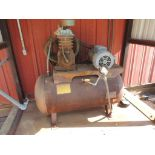Air Compressor 3 Hp, Horizontal 30 Gallon Tank, (LOCATED IN HENNESSEY, OK. - IN CHEM BLDG.)