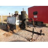 Boss 425 Air Compressor, 4 Cyl. Ford, Natural Gas, 4655 Hrs. Indicated, S/N BGB-30004-0503(LOCATED