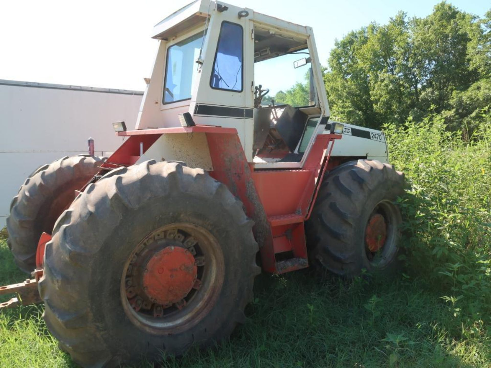 1974 Case Tractor Model 2470, S/N 8762465 (hole in block) (LOCATED IN ARDMORE, OK.)