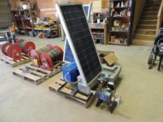 LOT: Graco Wolverine Solar IN CHEM BLDG.ical Injection System with Harrier LT Controller, Wolverine