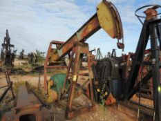 Cabot Pump Jack Model TH10F-11DC (Located Lower Yard)(LOCATED IN HENNESSEY, OK)