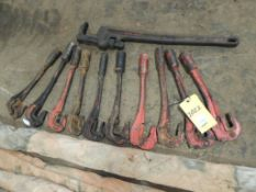LOT: (10) Rod Wrenches(Located Cowboy Bldg)(LOCATED IN HENNESSEY, OK)