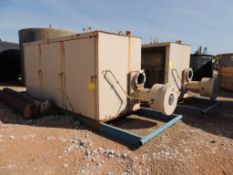 LOT: (2) 1,000,000 BTU Seperators, Skidded, Enclosed (Located Lower Yard)(LOCATED IN HENNESSEY, OK)