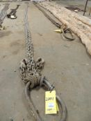 Chain Sling, 1/2 In. x 20 Ft. 2 Leg Adjustable (Located Cowboy Bldg)(LOCATED IN HENNESSEY, OK)