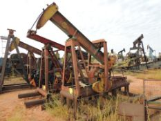Cabot Pump Jack Model DC41266B (Located Lower Yard)(LOCATED IN HENNESSEY, OK)