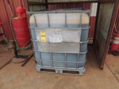 LOT: Approximatly 250 Gallons HD 80-90 Gear Lube, Pnuematic Pump, (2) Barrel Racks(Located Cowboy Bl