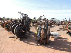 LOT: (50+) Natural Gas Engines, PTO's, Gear Cases (Located Lower Yard)(LOCATED IN HENNESSEY, OK)