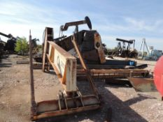 LOT: Large Quantity of Decomissioned Assorted Pump Jacks and Components, Counter Weights, Heads, Gea