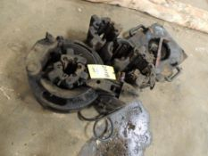 LOT: Pnuematic Slip w/ Assorted Spiders(Located Cowboy Bldg)(LOCATED IN HENNESSEY, OK)