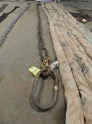 Chain Sling, 1/2 In. x 15 Ft. 2 Leg Adjustable (Located Cowboy Bldg)(LOCATED IN HENNESSEY, OK)