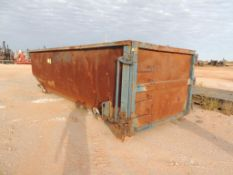 22 Ft. Rolloff Box Approx. 20 Yard (Located Lower Yard)(LOCATED IN HENNESSEY, OK)