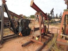 Jensen Bros Pump Jack Model 6D20 (Located Lower Yard)(LOCATED IN HENNESSEY, OK)