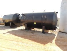 LOT: (2) 8 Ft. x 15 Ft. Horizontal Steel Tanks (Located Lower Yard)(LOCATED IN HENNESSEY, OK)
