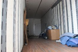 LOT: Appliance Dolly, Hand Dolly, Ladder, Moving Blankets (contents of Lot #5)
