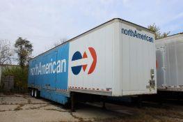 2001 Kentucky 47 ft. Tandem-Axle Furniture Van Trailer, VIN 1KKVE4826IL203789, Swing Rear & (4) Swin