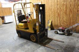 Hyster 2000 lb. LP Forklift, Short 2-Stage Mast