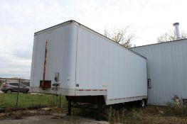 2006 Trailmobile 28 ft. Single-Axle Dry Van Trailer, VIN 1PT07BAE949001558, Roll-up Rear Door