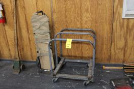 LOT: (1) Material Panel Truck & (1) Hand Dolly