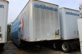 1999 Kentucky 47 ft. Tandem-Axle Furniture Van Trailer, VIN 1KKVE5021XL115033, Swing Rear & (4) Swin