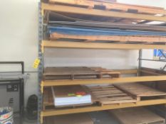 Section 9.5 ft. x 8 ft. x 42 in. (est.) Pallet Rack (LOCATED IN ST. AUGUSTA, MN.)